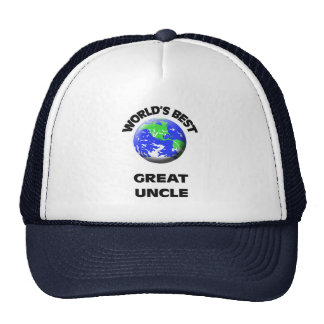 World's Best Great Uncle Hat
