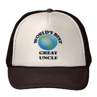 World's Best Great Uncle Trucker Hat