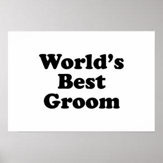 World's Best Groom Poster