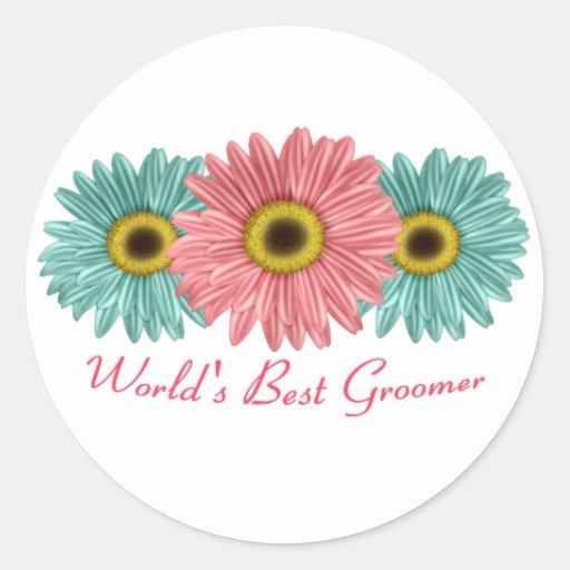 World's Best Groomer Sticker