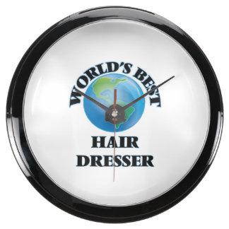 World's Best Hair Dresser Aquavista Clocks