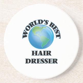 World's Best Hair Dresser Drink Coasters