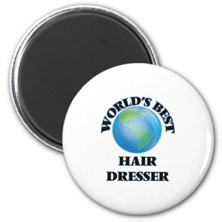 World's Best Hair Dresser Magnets