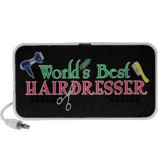 World's Best Hairdresser Portable Speaker