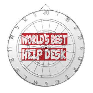 World's Best Help Desk. Dartboard