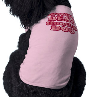 Worlds Best Hunting Dog Pink Camo T-Shirt