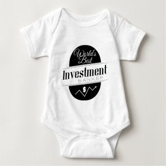 World's Best Investment Banker Baby Bodysuit