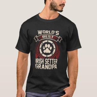 World's Best Irish Setter Grandpa T-Shirt