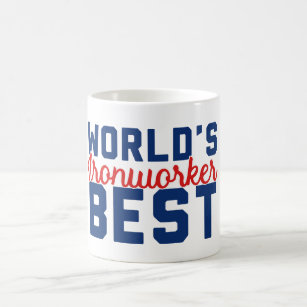 World's Best Ironworker Coffee Mug