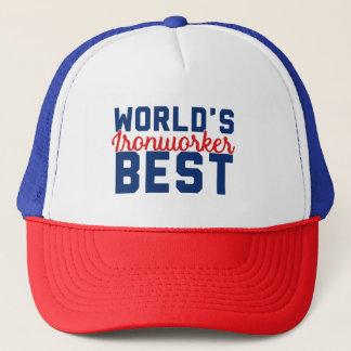 World's Best Ironworker Trucker Hat