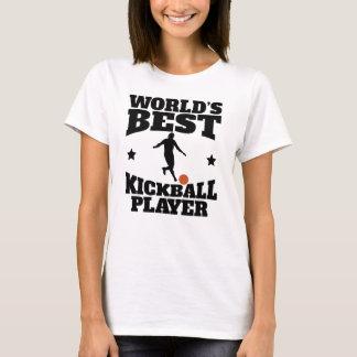 Worlds Best Kickball Player T-Shirt
