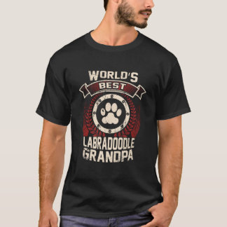 World's Best Labradoodle Grandpa T-Shirt