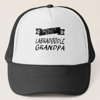 World's Best Labradoodle Grandpa Trucker Hat