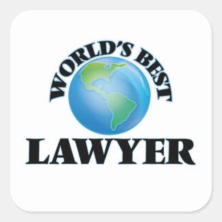 World's Best Lawyer Stickers