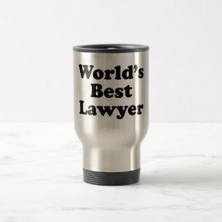 World's Best Lawyer Travel Mug