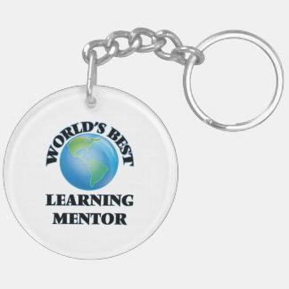 World's Best Learning Mentor Acrylic Keychain