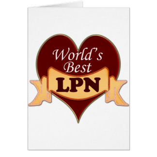 World's Best LPN Cards