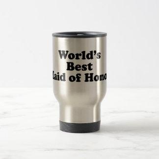 World's Best Maid of Honor Stainless Steel Travel Mug
