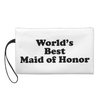 World's Best Maid of Honor Wristlets