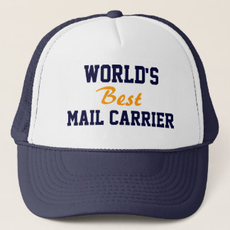 World's best mail carrier cap