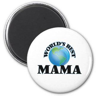 World's Best Mama 2 Inch Round Magnet