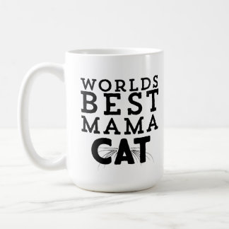 Worlds Best Mama Cat Coffee Mug