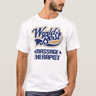 Worlds Best Massage Therapist T-Shirt