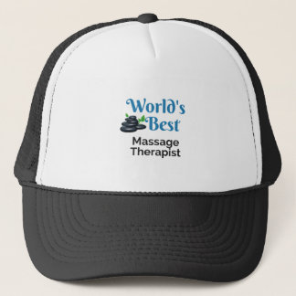 World's Best massage therapist Trucker Hat
