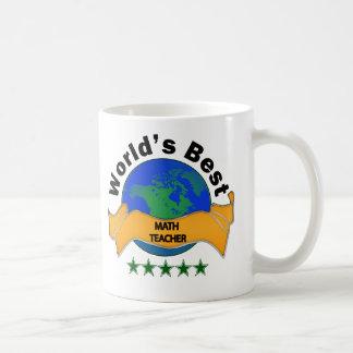 World's Best Math Teacher Coffee Mug