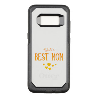 World's Best Mom | Adorable Gift OtterBox Commuter Samsung Galaxy S8 Case
