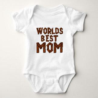 World's Best Mom Baby Bodysuit