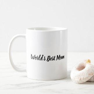World's Best Mom Floral Mug