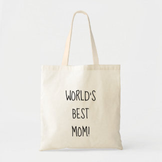 World's best Mom gift, gift for special Mom Tote Bag
