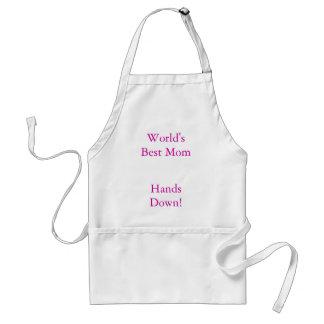 World's Best Mom, Hands Down! Standard Apron