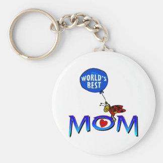 World's Best Mom Keychain