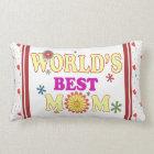 World's Best Mom Lumbar Pillow