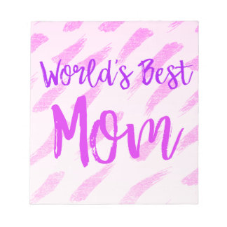 World's Best Mom Notepad
