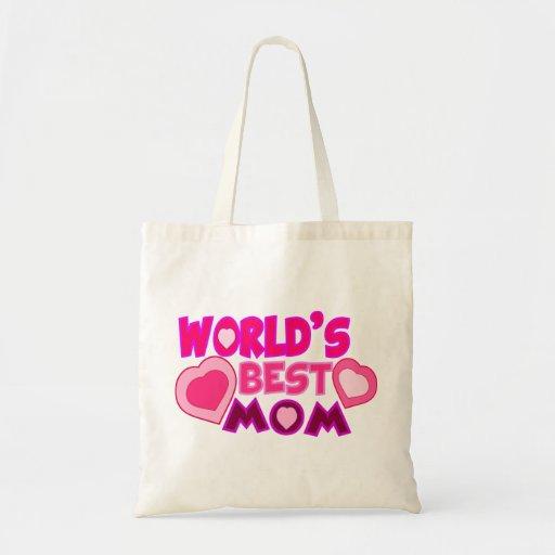 WORLD'S BEST MOM SACS EN TOILE