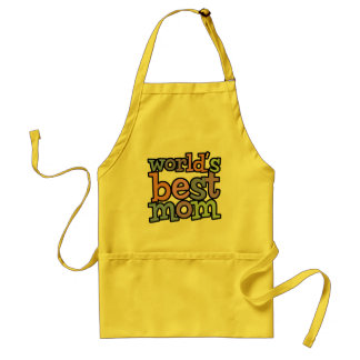 Worlds Best Mom T-Shirts & Gifts Standard Apron