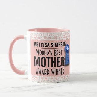 World's Best Mother Award Mug