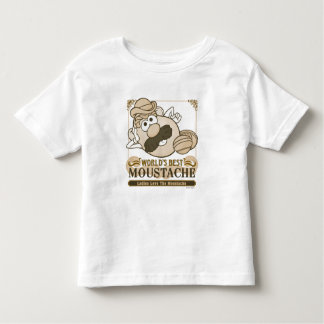 World's Best Moustache Toddler T-shirt