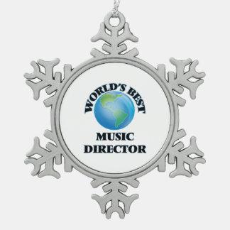 World's Best Music Director Ornament
