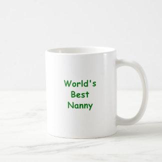 Worlds Best Nanny Coffee Mug