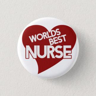 Worlds Best Nurse 1 Inch Round Button