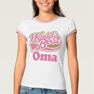 Worlds Best Oma Grandma T-Shirt