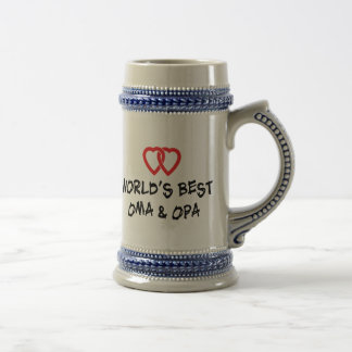 World's Best Oma & Opa Gift Beer Steins