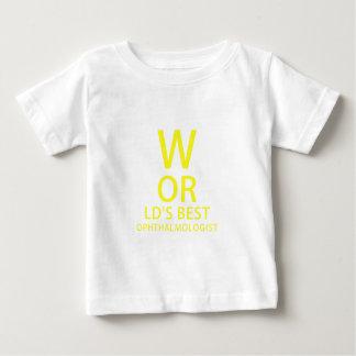 Worlds Best Ophthalmologist Baby T-Shirt