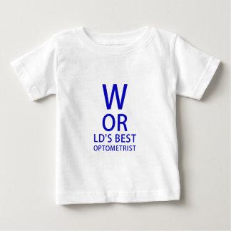 Worlds Best Optometrist Baby T-Shirt