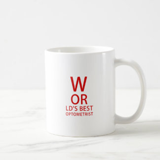 Worlds Best Optometrist Coffee Mug