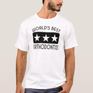 World's Best Orthodontist T-Shirt